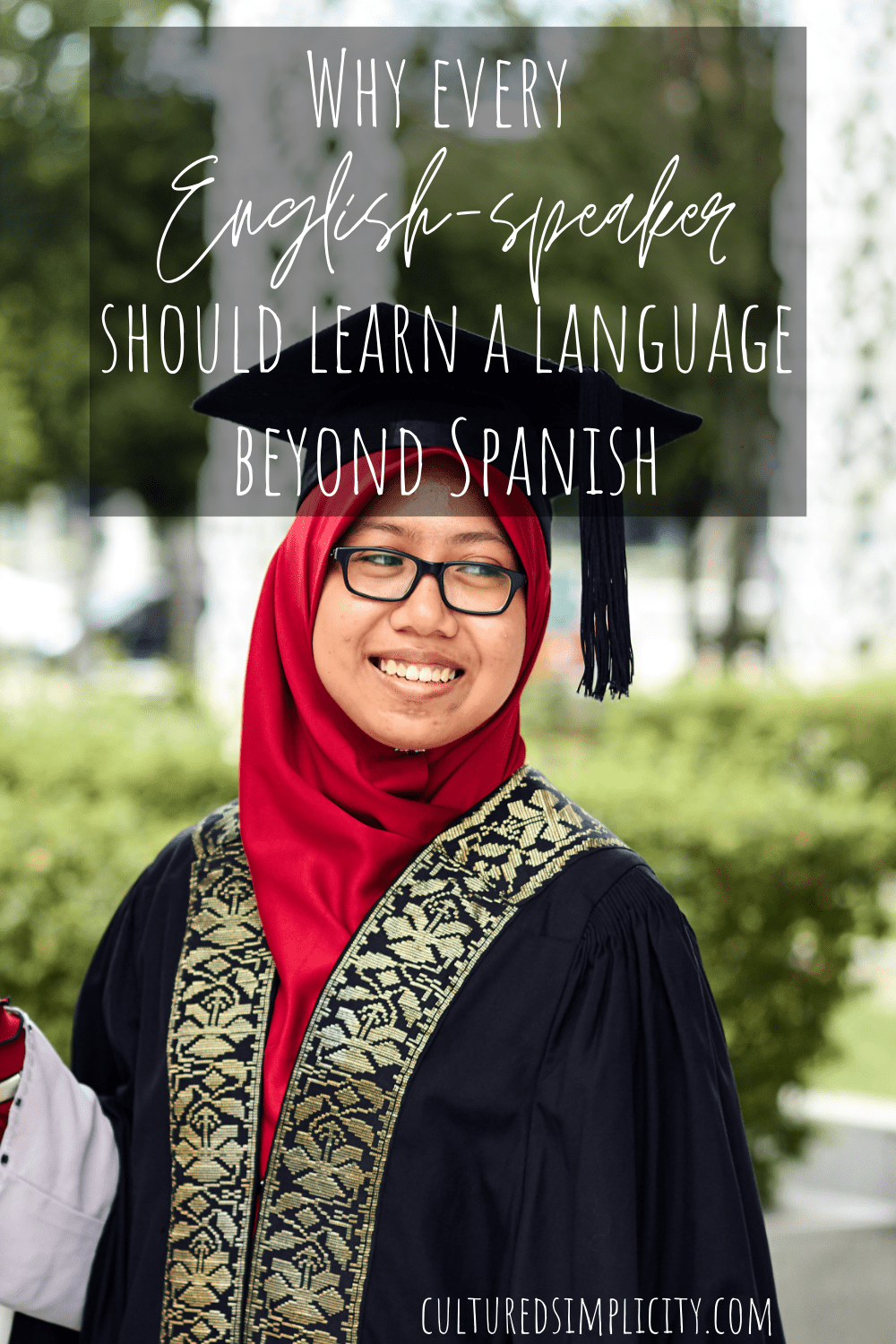 Why every English-speaker should learn a language beyond Spanish