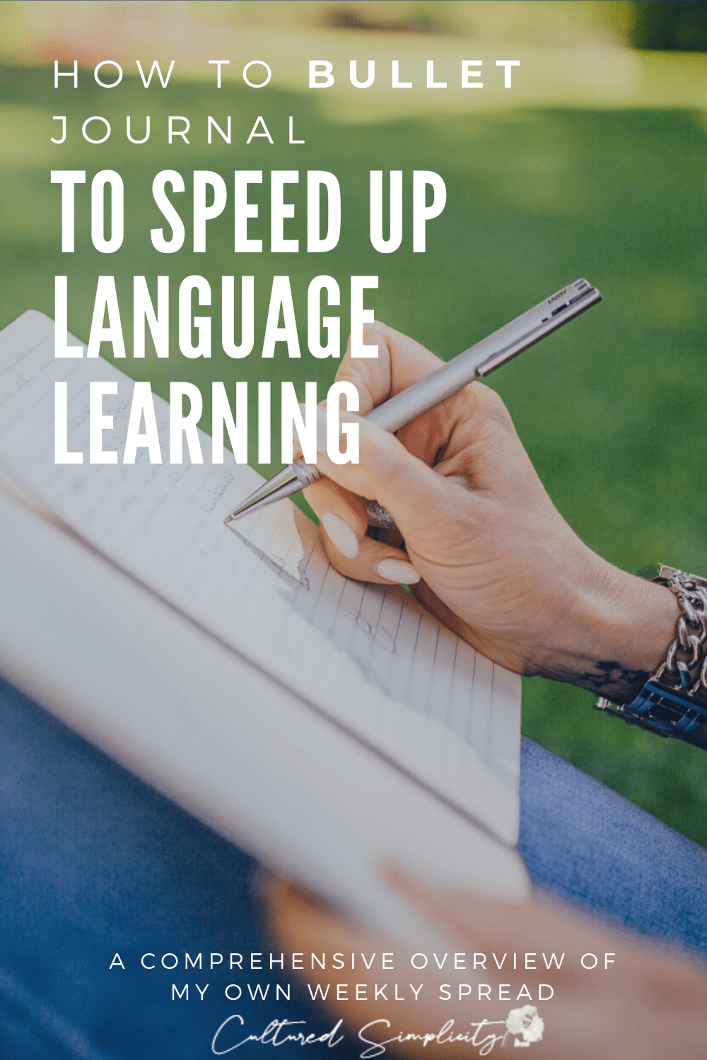 The Smart way to bullet journal to speed up language learning  (Self-Quarantine Edition)