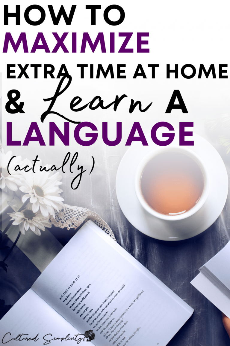 The Fastest 5 Steps to learn a language & strengthen your resume during Self Quarantine
