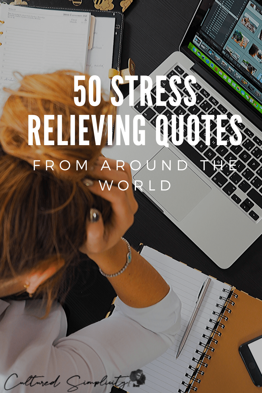 50 Stress Relief Quotes from around the world