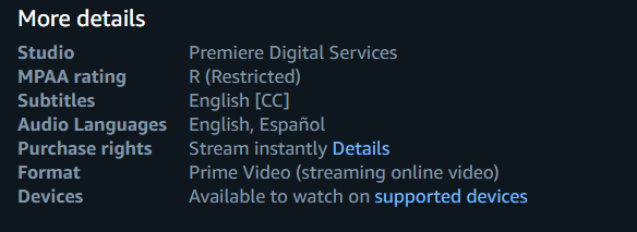Amazon Prime Videos for Language Learning