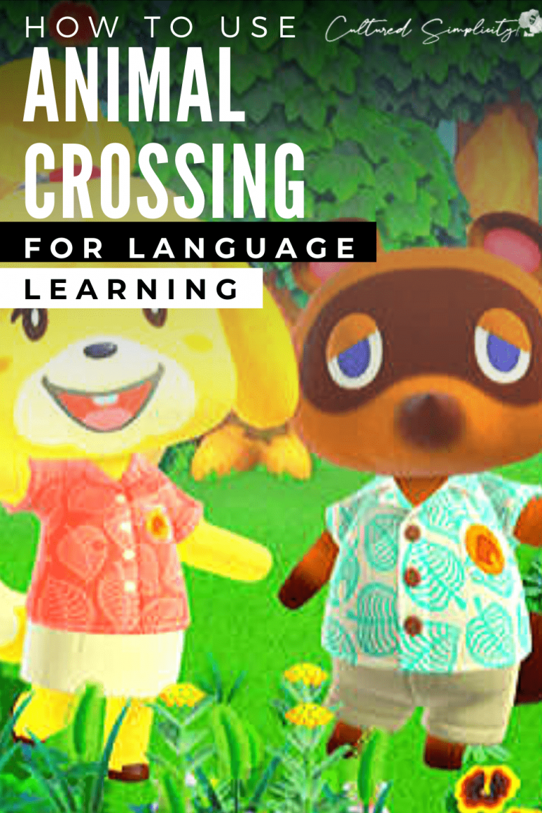 How to use ANIMAL CROSSING to learn a foreign language