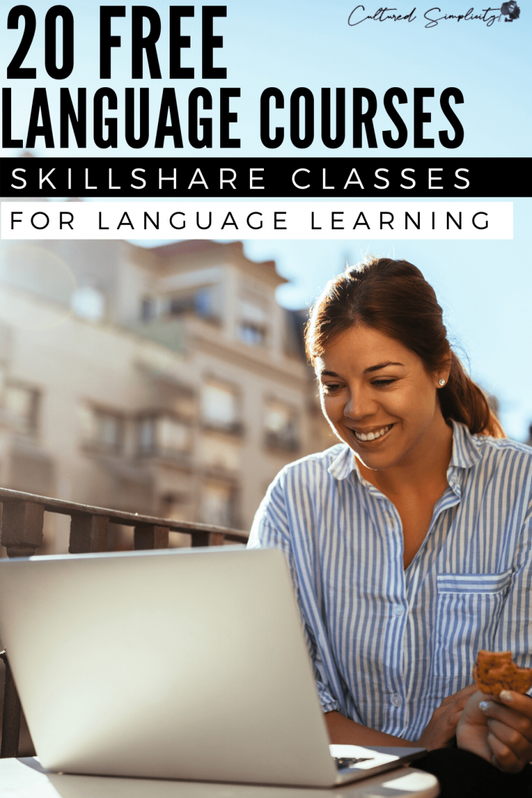 20 FREE Language Learning Video Courses | Top Skillshare Classes