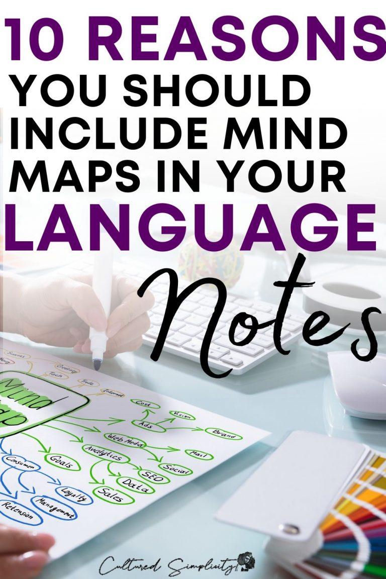 10 reasons you need to include mind maps in your language study journal