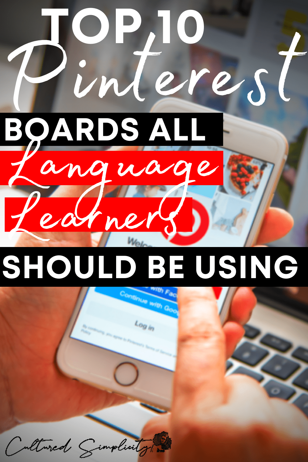 Top 10 Pinterest Boards all Language Learners need to use