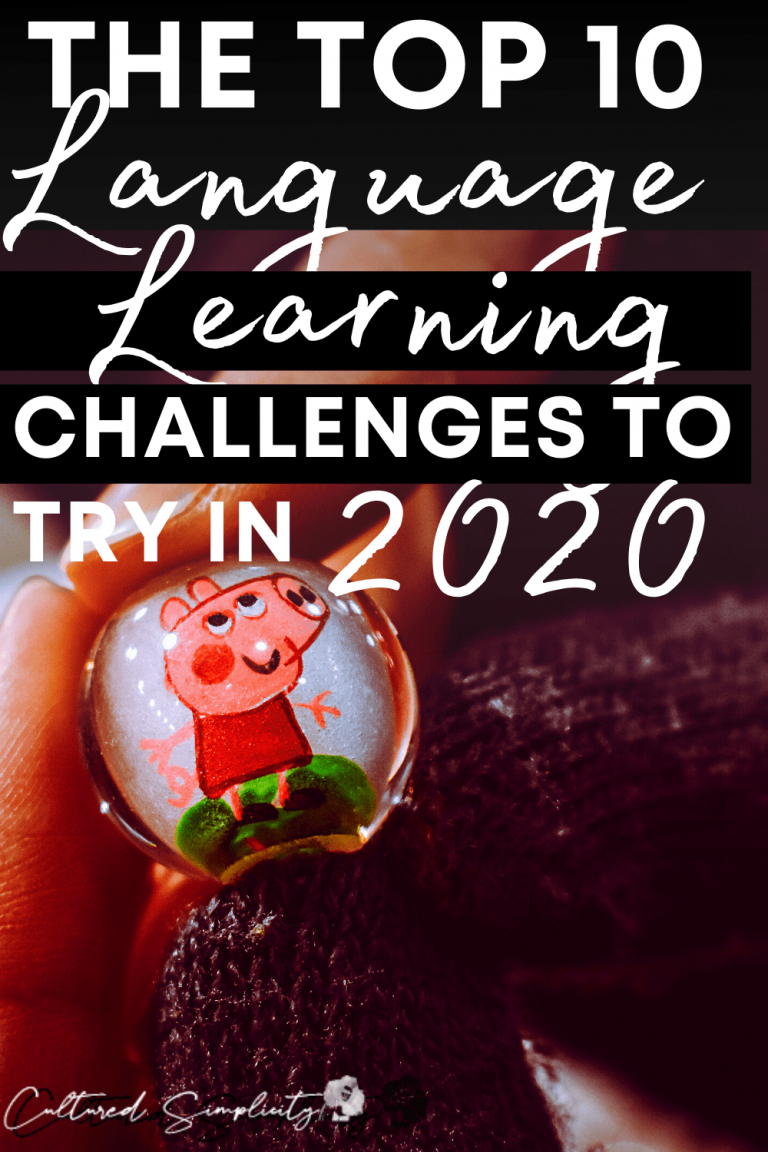 The Top 10 Language Learning Challenges to try in 2020