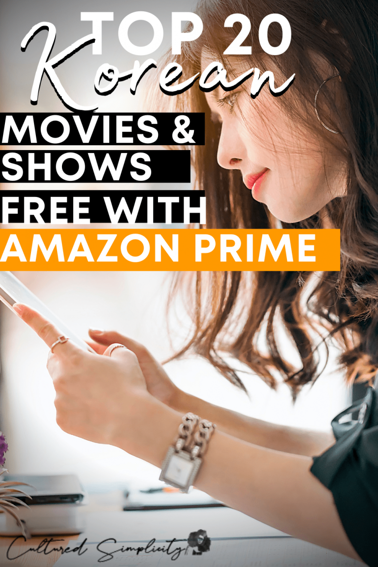 Top 20 Korean Movies & Shows Free with Amazon Prime