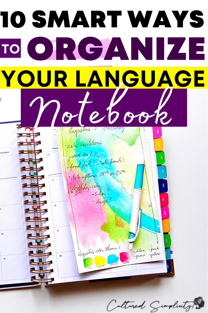 10-ways-to-organize-your-language-notes