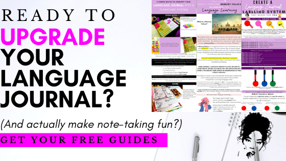 Upgrade your language journal