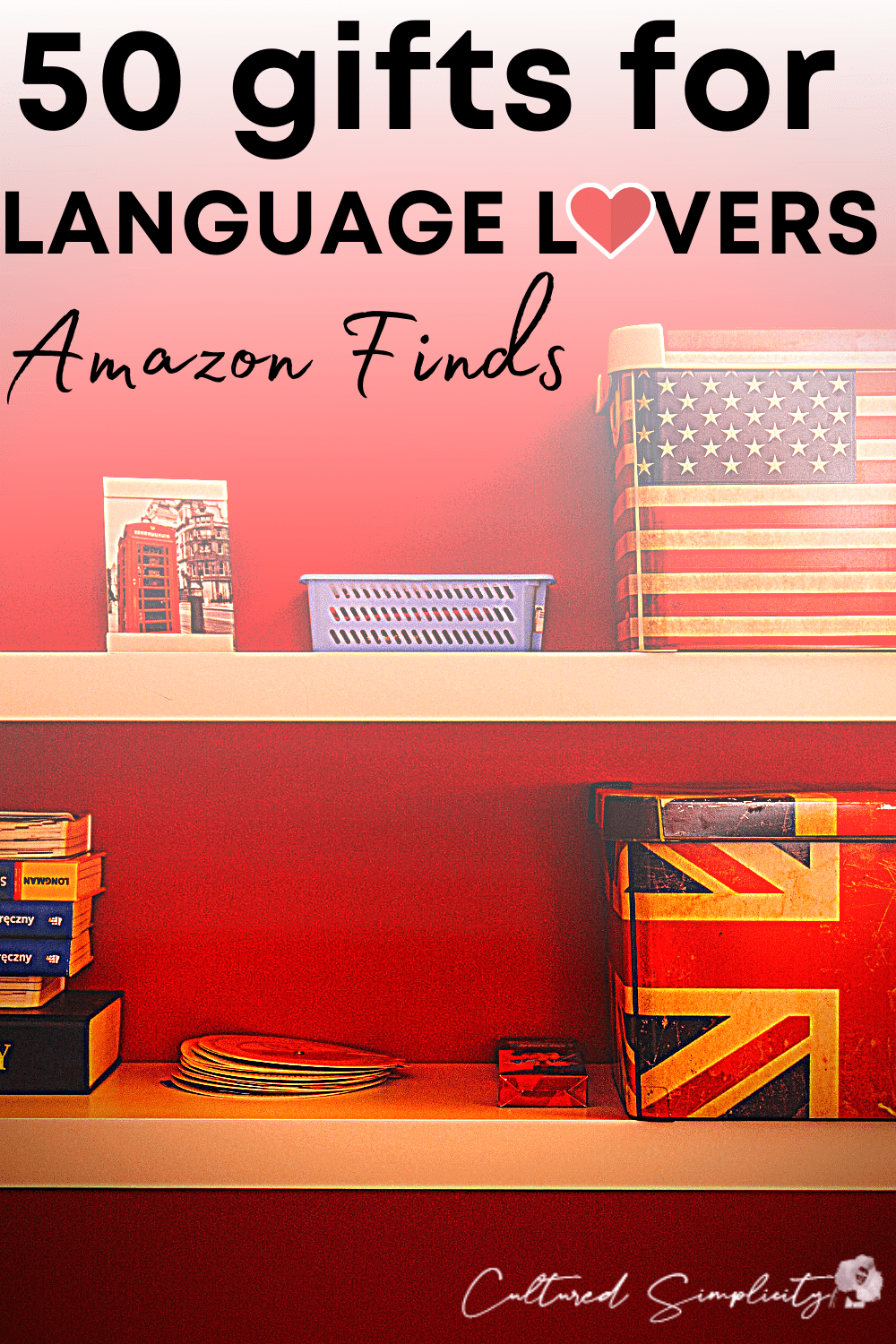 50 Gifts for Language Lovers