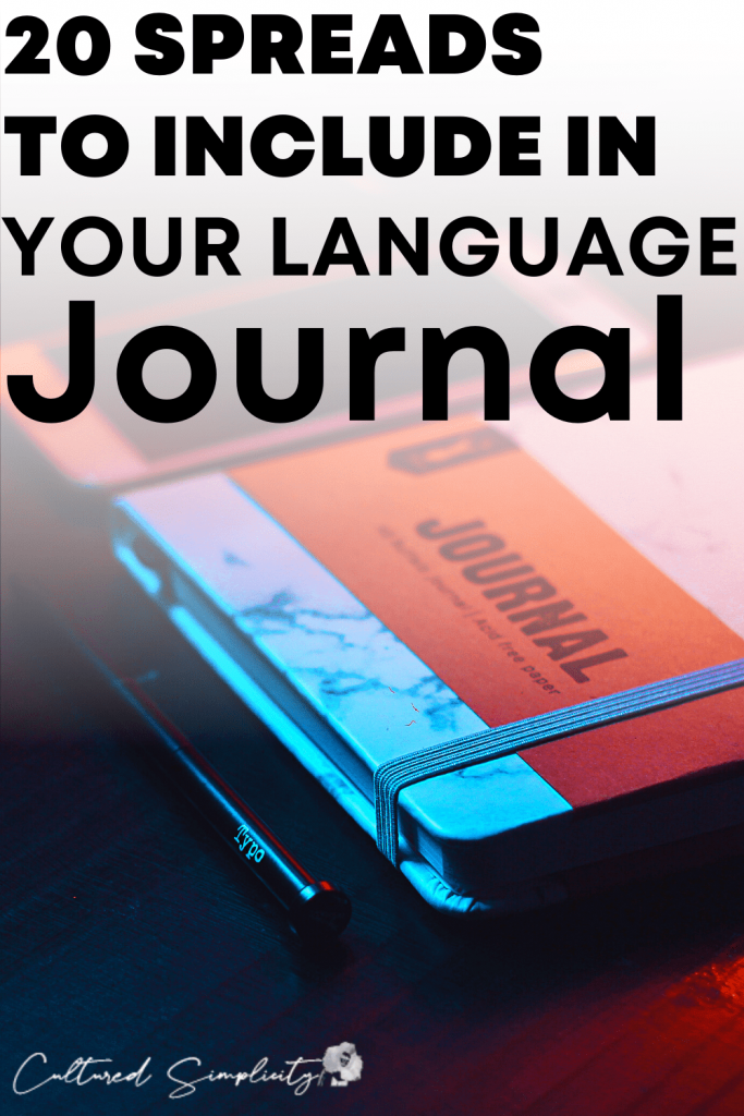 20 Amazing Language Learning Bullet Journal Spreads
