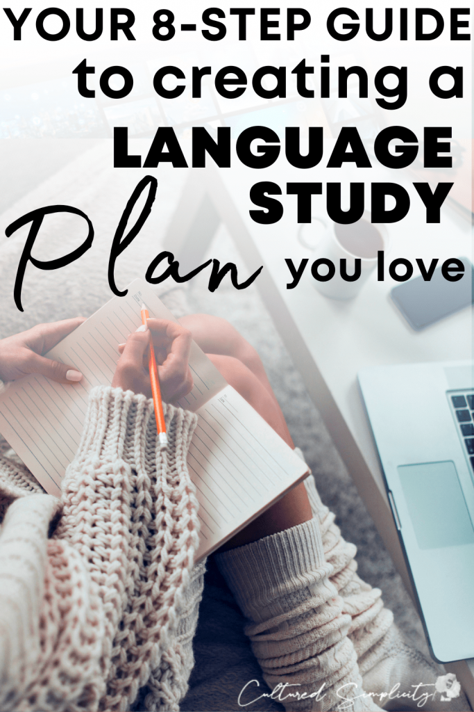 Creating a language study routine you love.