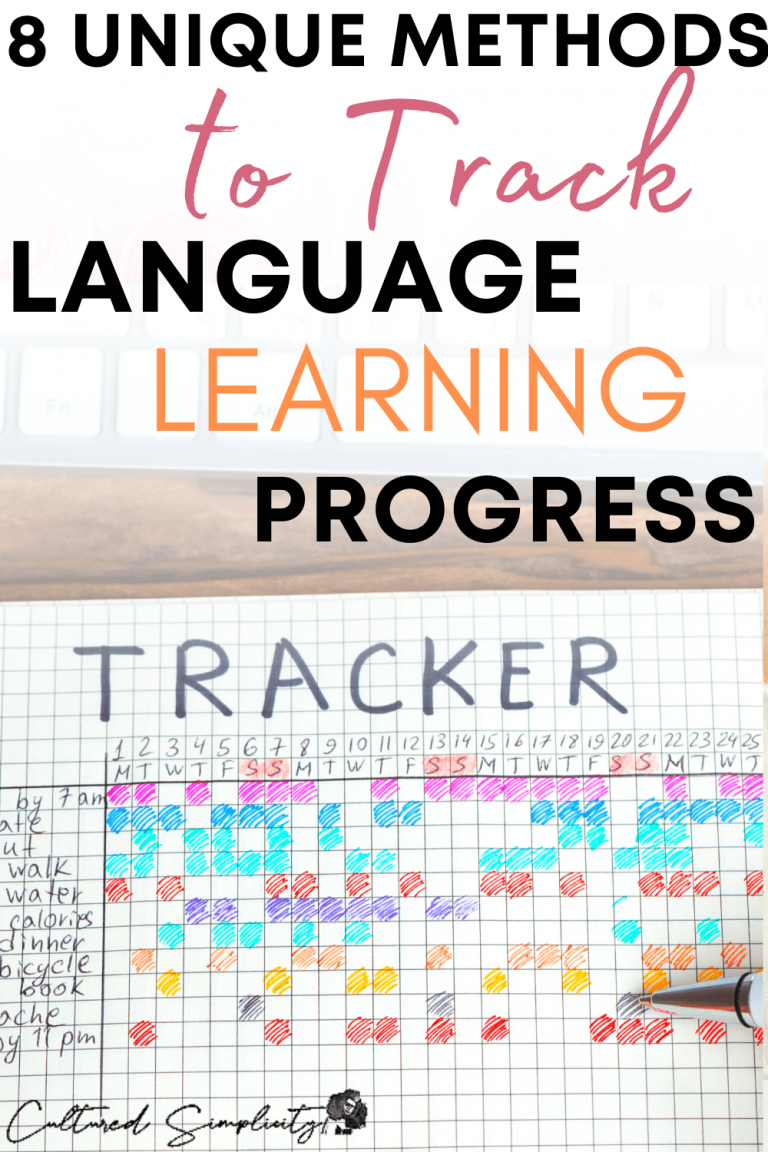 8 unique methods to track language learning progress