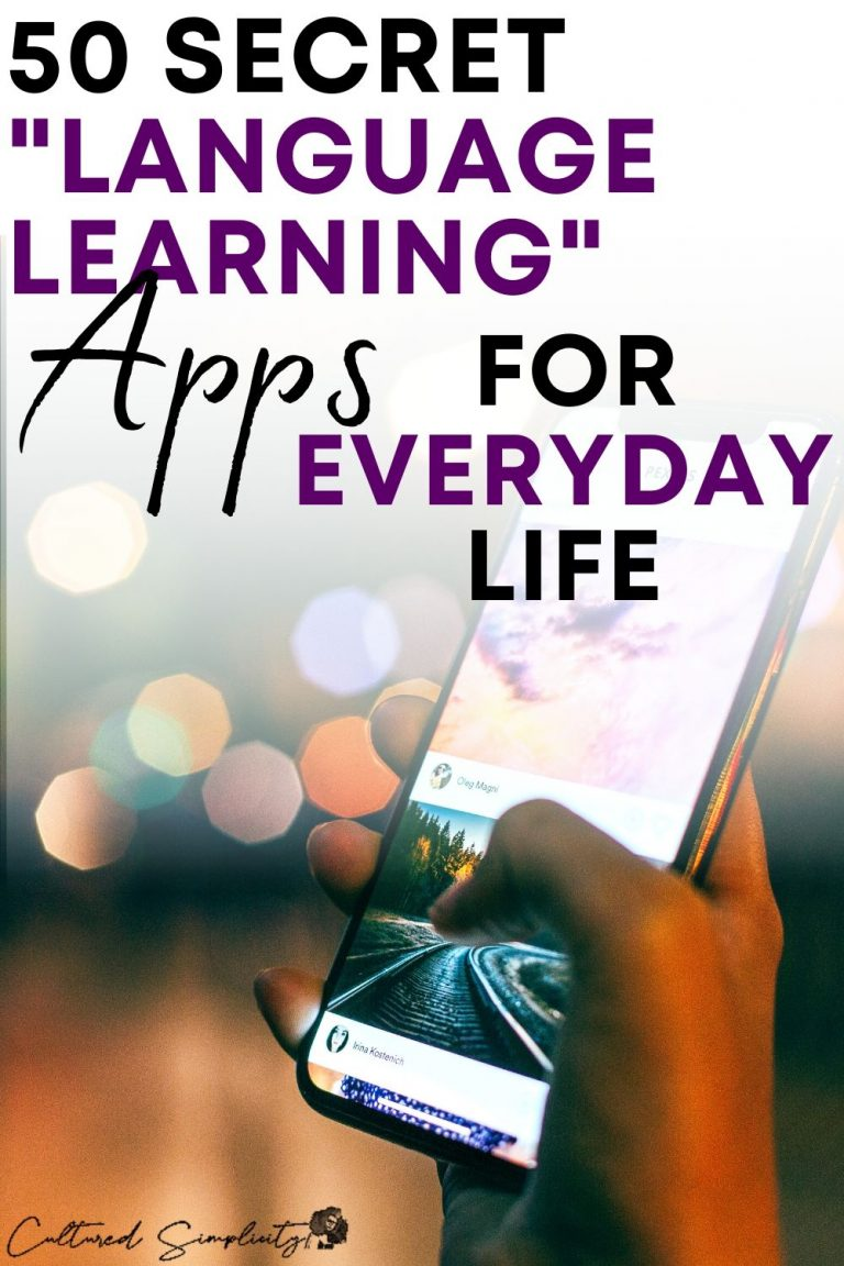 50 Secret Language Learning apps for everyday living