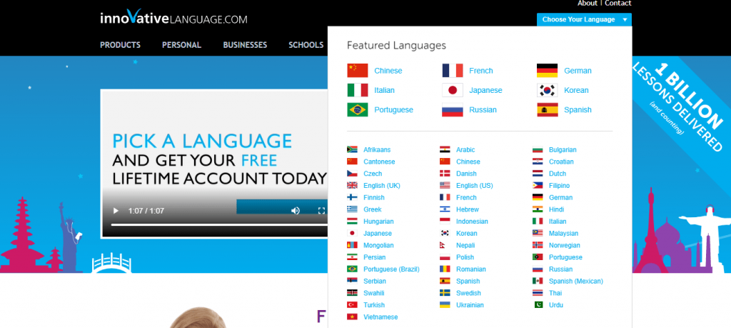 The best Language learning tools