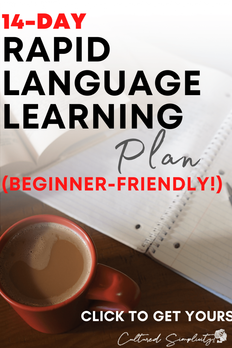 Your 14-day Rapid Language Learning Plan for Covid19's Self-Quarantine