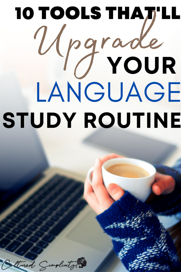 10 tools that'll upgrade your language study routine