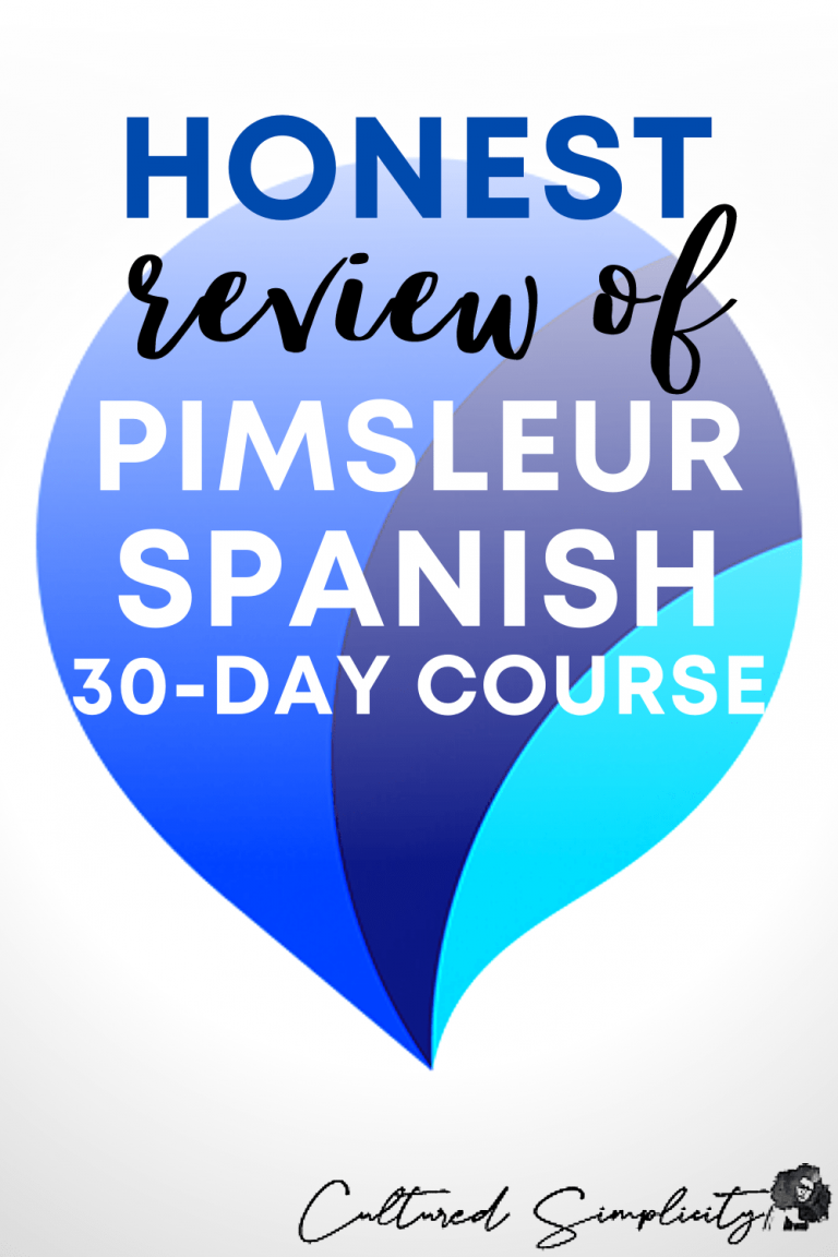 Honest Review of 30 Day Pimsleur Spanish Course