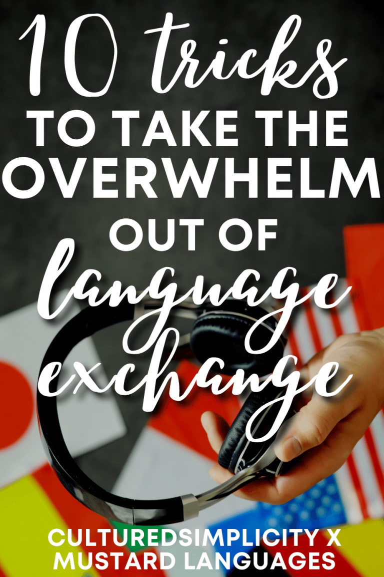 10 tricks for successful language exchanges that aren't overwhelming