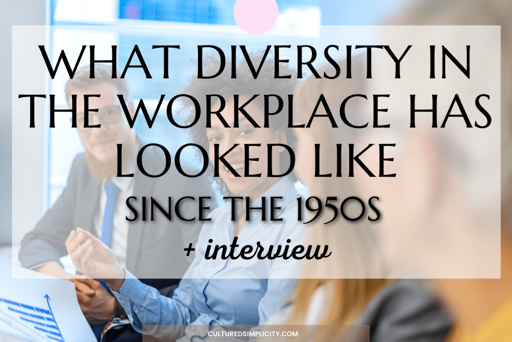 Diversity in the workplace since the 1950s