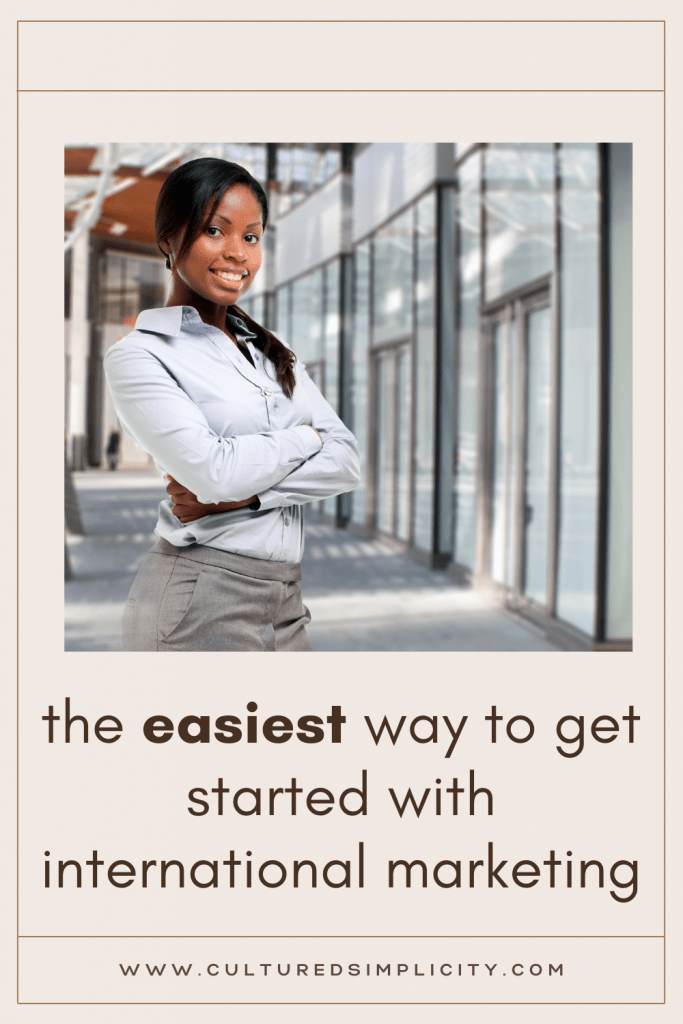 the easiest way to internationally market your small business