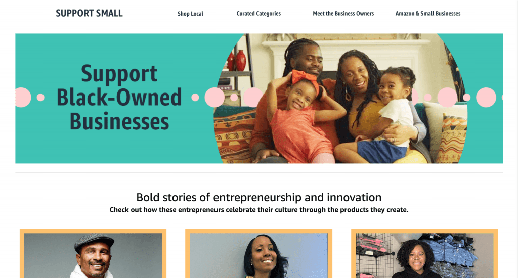 Support POC-owned businesses & minority-owned businesses