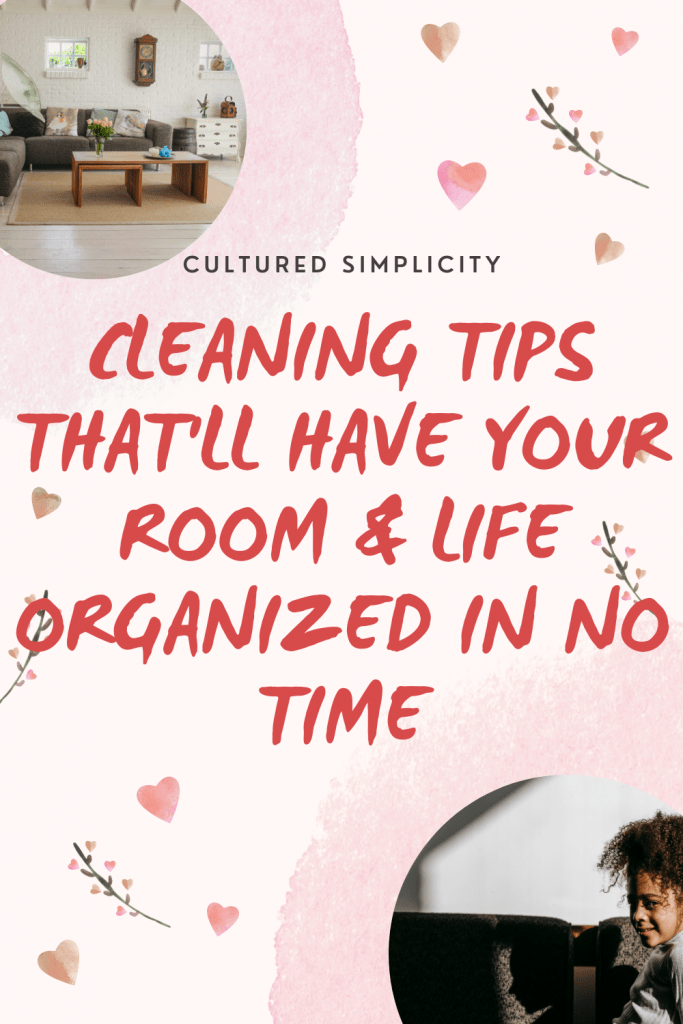 how to keep your room clean for college students